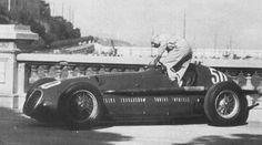 In 1950 Prince Bira drove for the Swiss Enrico Plate Maserati team ...