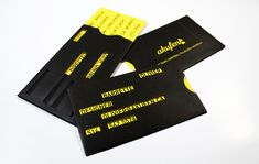 self promotional interactive business cards | by akufen