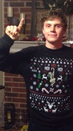 It's Christmas sweater time
