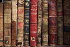 kirjaston hyllyllä