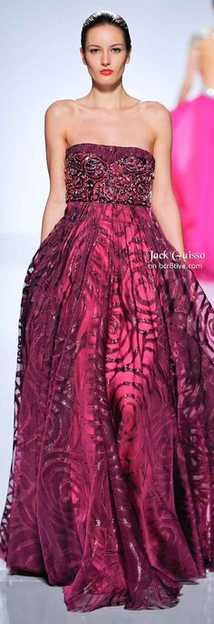 Jack Guisso Spring 2011 Couture -- I love everything about this dress.