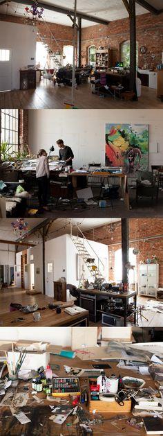 Nadin Maria Rüfenacht  -    Photographer & Artist , Apartment & Studio, Leipzig  .    .    #workspace #studio