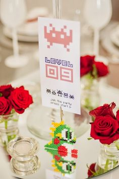 Marlene and Rodolfo's 8-Bit Gamer Wedding