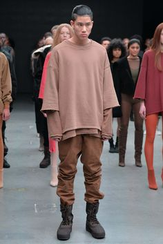 Kanye West x Adidas Originals - Fall 2015 Ready-to-Wear - Look 27 of 50 CAN PEP REY 's inspiration