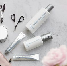 👌🏼Want to keep those blemishes at bay? Look no further than our Clear Action System. Nu Skin, Healthy Skin Care, Anti Aging Skin Care, Clear Skin, Beauty Care, Collagen, Action, Cleanser, Medical
