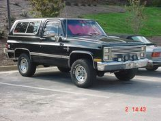 Chevrolet K5 Blazer from 1985  cool autos  Pinterest  Blazers