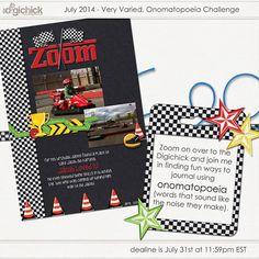 Very Varied - ONOMATOPOEIA CHALLENGE - July 2014