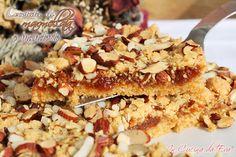 Crostata di marmellata e mandorle | ricetta dolce senza burro
