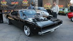 Where is Dominic Toretto? Custom Muscle Cars, Best Muscle Cars, American Muscle Cars, Custom Cars, Rockabilly, Dominic Toretto, Dodge Charger Rt, Best Classic Cars, Cute Images