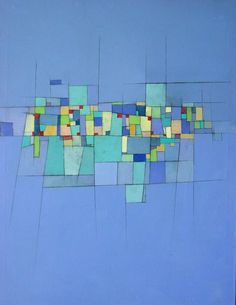 Community 2 - acrylic on canvas 30x40in by Deborah Batt