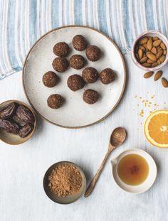 Chocolate Orange Energy Balls by Annie Clarke.