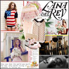 """Lana Del Rey"" by yamyiy on Polyvore"