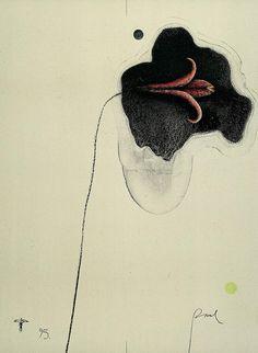 Paul Wunderlich, Flower for K, 1995