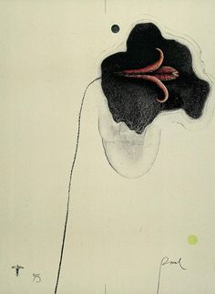 Paul Wunderlich, Flower for K, 1995 - inland delta