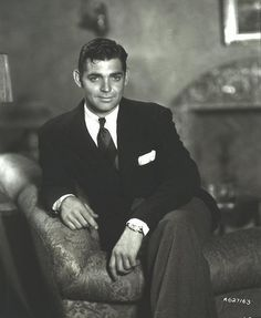 The King of Hollywood: 50 Dashing Photos of Clark Gable in the Early Hollywood Stars, Old Hollywood Glamour, Golden Age Of Hollywood, Vintage Hollywood, Classic Hollywood, Clark Gable, Old Movie Stars, Classic Movie Stars, Classic Movies