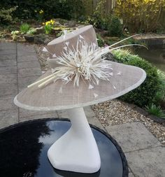 picture collection of hats,headpieces & fascinators that we sell in our online shop Sinamay Hats, Millinery Hats, Fascinator Hats, Fascinators, Headpieces, Ladies Day Outfits, Race Day Hats, Philip Treacy Hats, Mad Hatter Hats
