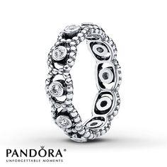 Pandora Ring CZ Her Majesty Sterling Silver