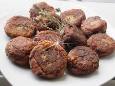 Greek Recipes, Keto Recipes, Cake Recipes, Vegetarian Recipes, Cetogenic Diet, Greek Dishes, Muffin, Food And Drink, Sweets