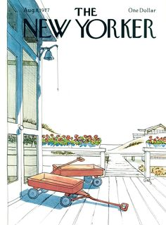 The New Yorker - Monday, August 8, 1977 - Issue # 2738 - Vol. 53 - N° 25 - Cover by : Arthur Getz
