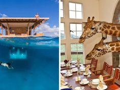 Lubisz podróżować? Zastanów się, czy nie warto dodać do listy miejsc, które chcesz odwiedzić, kilku hoteli. Niektóre z nich naprawdę robią wrażenie.