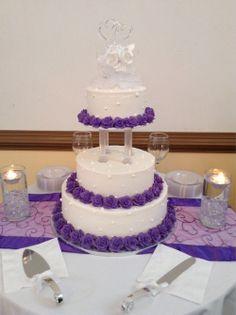 #Lilac/Lavender purple wedding cake! Love!!!