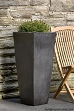 Tall Modern Outdoor Planter   Favorite