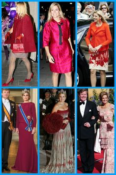 royalsandquotes:  Royal Ladies in RED - Queen Maxima of the Netherlands