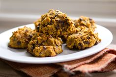 Gluten-Free Pumpkin Cookies: No Sugar! Made with Almond Flour! So Good!