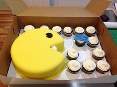 Pacman cake!