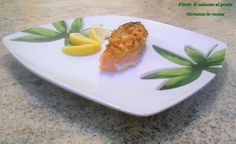 Filetto di salmone al gratin