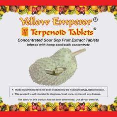 Check out our hottest deals ! Yellow Emperor Sour Sop CBD Tablets