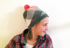 #52Project - 1/52: a photo a week for 52 weeks. This week, rocking her #bula #beanie and #flannel in #kidstyle
