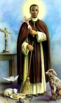 St Martin De Porres. Probably my favorite Saint of all time!