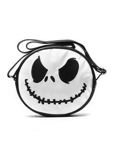 Nightmare Before Christmas Jack Face Bag | Attitude Clothing