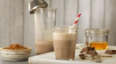 Try a protein-packed treat with our recipe for a Chocolate Protein Shake. Made with nutritious, ultra-filtered fairlife milk. #BelieveInBetter