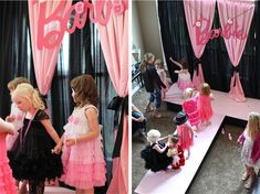 A Barbie Party that will have you totally WOWd from glamour make-up stations to a real-live runway for the party girls!