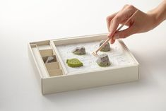 Edible Japanese Zen Rock Garden — The Dieline - Package Design Resource