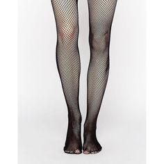 Leg Avenue Nylon Fishnet Tights ($4.56) ❤ liked on Polyvore featuring intimates, hosiery, tights, black, sheer nylon stockings, sheer hosiery, fishnet pantyhose, sheer stockings and nylon hosiery