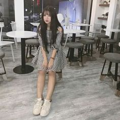 #chi Ulzzang Fashion, Ulzzang Girl, Korean Fashion, Korean Style, Korean Girl, Asian Girl, Grunge Fashion, Girl Fashion, Fashion Outfits