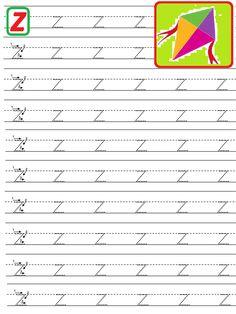 Preschool Number Worksheets, Alphabet Tracing Worksheets, Alphabet Writing, Numbers Preschool, Handwriting Worksheets, Preschool Learning Activities, Alphabet Worksheets, Learning Letters, Toddler Activities