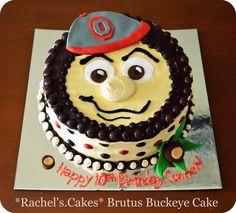 Brutus The Buckeye Cake