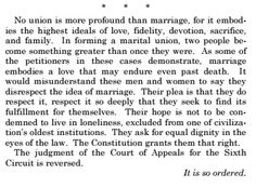 June 2015 ~ The U. Supreme Court legalized same-sex marriage nationwide. This is the closing paragraph of the ruling written by Justice Anthony Kennedy. Two People, Paragraph, Supreme Court, Embedded Image Permalink, Beautiful Words, Beautiful Things, Beautiful Life, Simply Beautiful, Federal