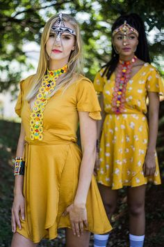 Welcome to Differently. Shop our latest fashion trends and accessories. Summer Days, Latest Fashion Trends, Mustard, Night Out, Wrap Dress, Sari, Shopping, Dresses, Night Out Tops