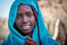 Young Afar girl, Ethiopia, Weldiya region