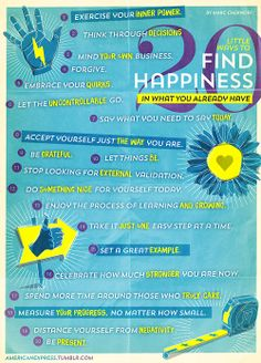 Got Happiness? 20 Little Ways to Make it Happen.