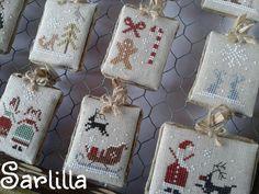 Fairytale Advent Calendar - The Little Stiticher ~ Le creazioni di Sarlilla
