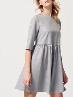 Sukienka z połyskującej dzianiny, MOHITO