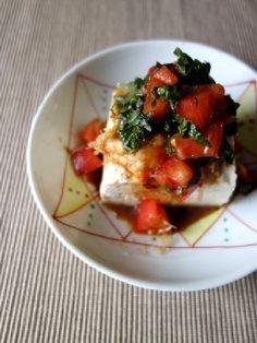 トマトキムチ豆腐 by Y'sさん | レシピブログ - 料理ブログのレシピ満載!