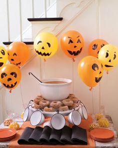 le mini dai monti: Halloween party! 2) Decorare la casa / La fete de Halloween: les décors