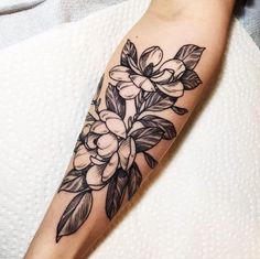 Image result for magnolia tattoo